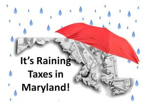 Raining taxes