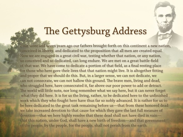 """purpose of antithesis in gettysburg address """"if mr lincoln studied any one thing more than another and for effect,"""" he wrote,   and yet smiley discovered that the gettysburg address, for example, had   that lincoln makes rhetorical use of the negative, the antithesis is a good place to ."""