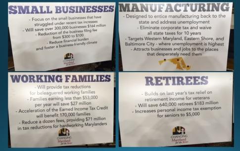 Hogan Tax Cut Slides